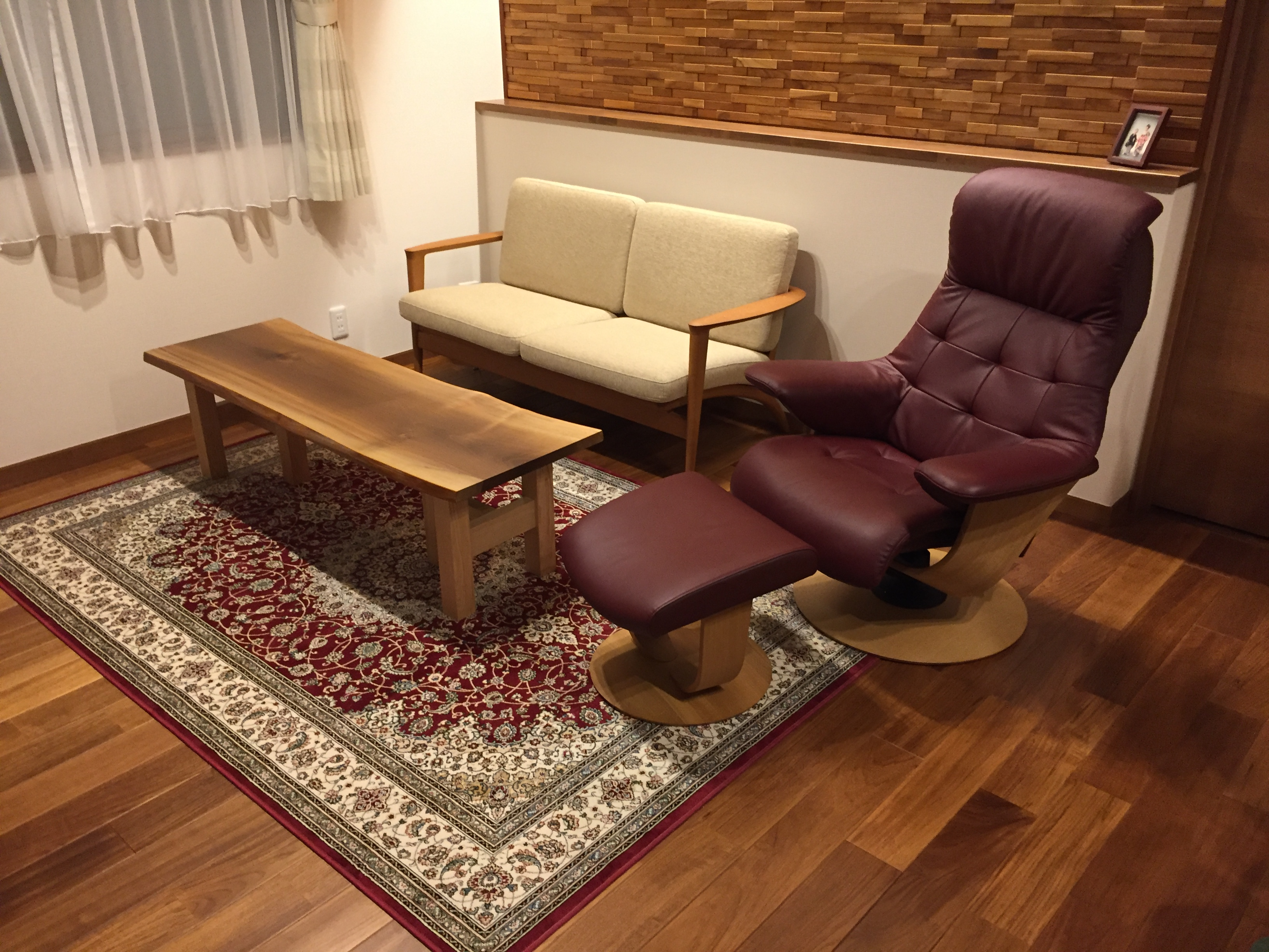 家族もみんな気に入っています。 千葉県s様-|信州善光寺前の松葉屋家具